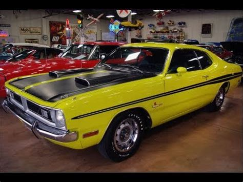 Hak Citra Wedges 1971 dodge dart 340 citron yella mopar car