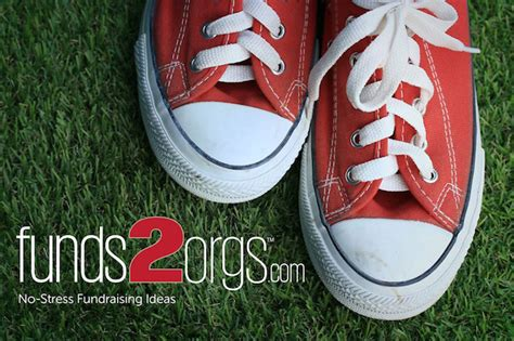shoe fundraiser school fundraisers without sales or stress funds2orgs