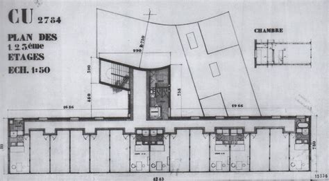 Skyscraper Floor Plan by Le Corbusier And The Sun Solar House History