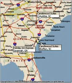 map of southern east coast of us hotel development and construction project maps