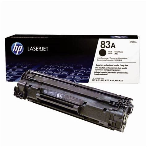 Toner Hp 83a hp 83a black toner cartridge 1 500 pages cf283a