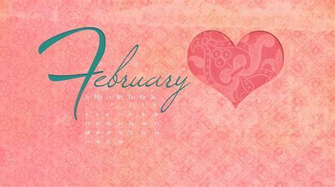 Calendar 2018 Valentines Day February 2018 Calendar Wallpapers Calendar 2018