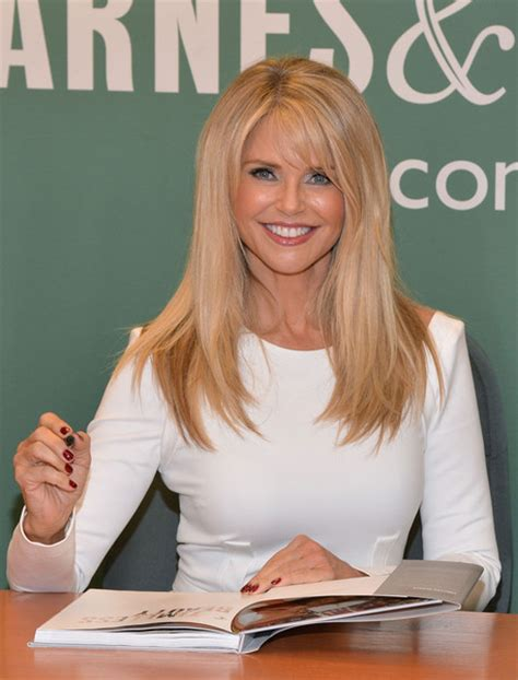 timeless 100 tips secrets and shortcuts to looking great books christie brinkley photos photos christie brinkley signs