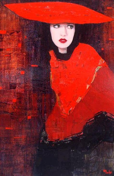 Yulia Brodskaya by Richard Burlet Painting Ego Alterego Com