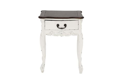shabby chic accent table shabby chic accent table in antique white by uma at