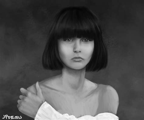 drawing of bob hair bob haircut girl sketch by jperezs on deviantart