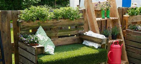 arredare giardino con bancali pallet per arredare il giardino 20 idee lasciatevi