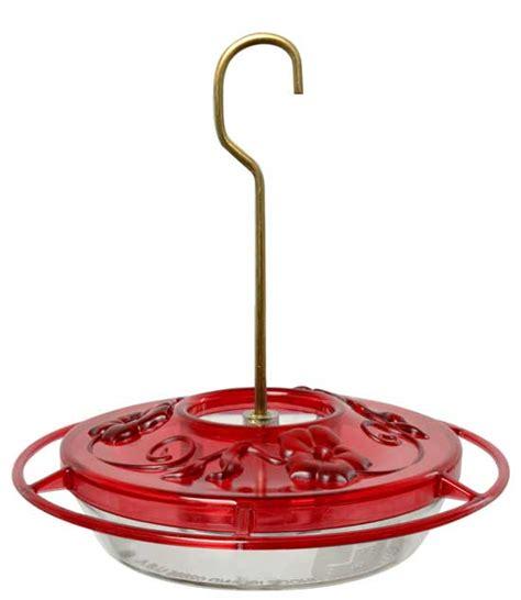 hummzinger little fancy rose hummingbird feeder easy to