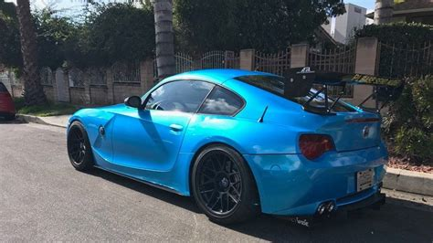 Modified Bmw Coupe by A Modified Bmw Z4m Coupe For The Races The Drive
