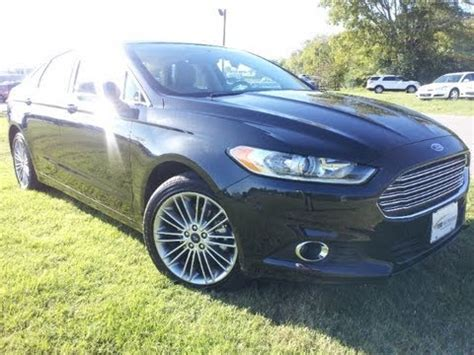 Fusion Package 2013 ford fusion se luxury package 1 6 ecoboost review ford of murfreesboro tn 888 439 1265
