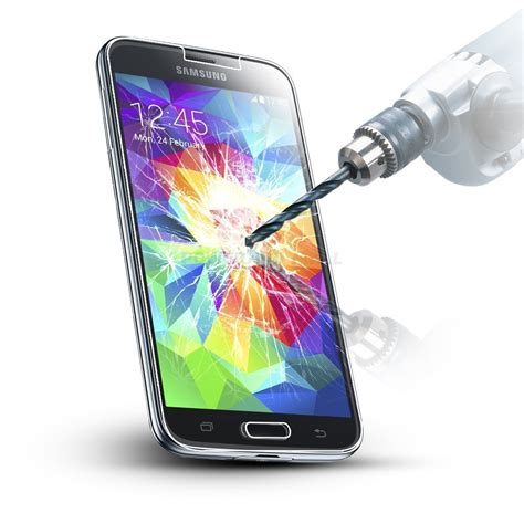 Tempered Glass Guard tempered glass hd clear screen protector guard for samsung galaxy s5