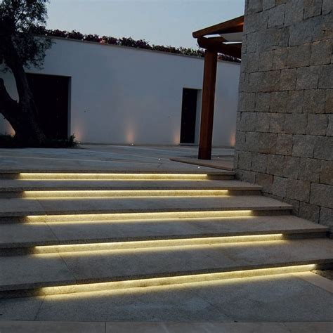 led stair lights outdoor image result for led strips exterior wall lighting