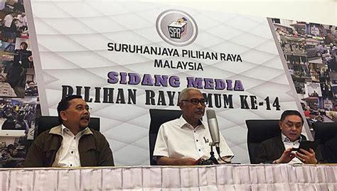 malaysia election spr pilih tarikh pru14 selepas semua dun bubar free
