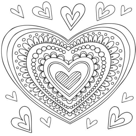 mandala pattern font coloriage mandala coeur 224 colorier dessin 224 imprimer