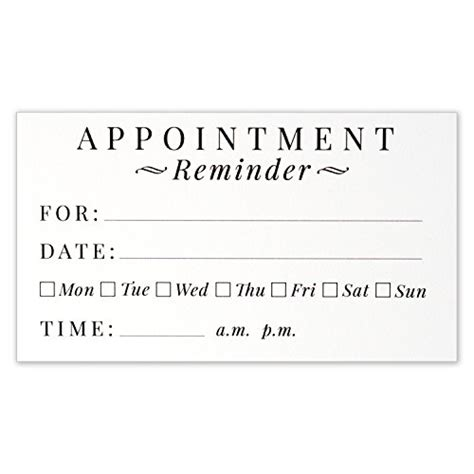 grooming appointment reminder cards templates free top 13 best patient reminder cards patient reminder