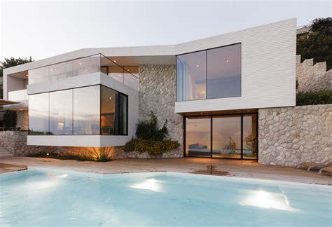 modern mediterranean house contemporary mediterranean coast villa modern house designs