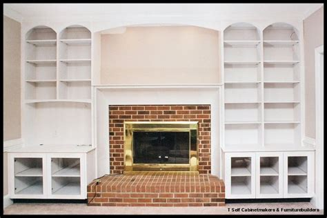 22 best images about fireplace bookcases on