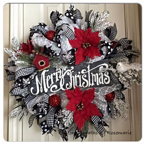 wreath decor 1000 ideas about mesh wreaths on