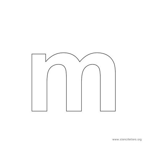 letter m template letter m template gallery