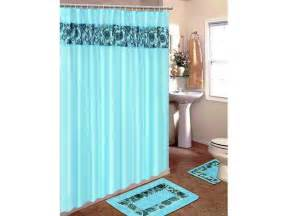 bathroom sets with shower curtain and rugs selection