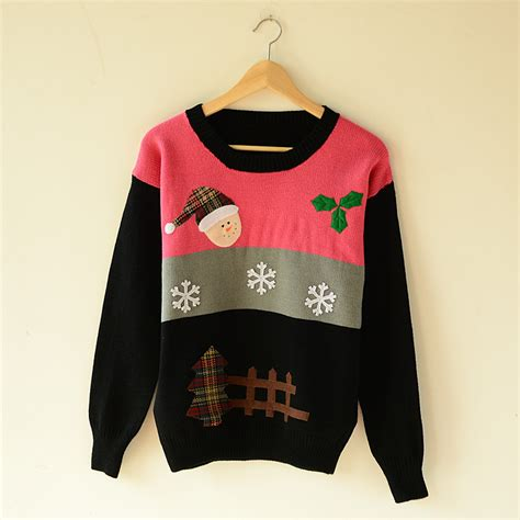 Snowy Sweater sweaters winter snow santa jumpers for on luulla