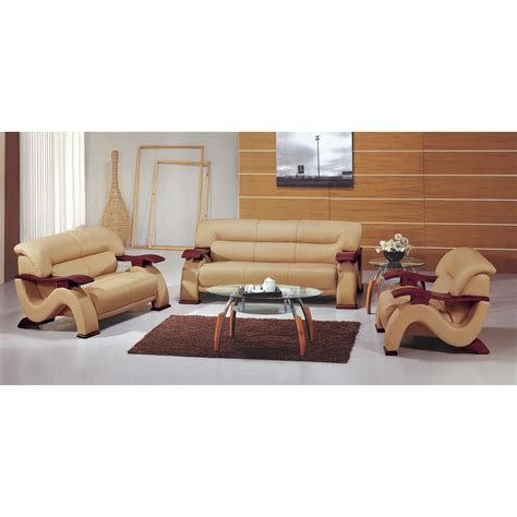 leather sofa set designs hokku designs chrysocolla 3 piece leather sofa set