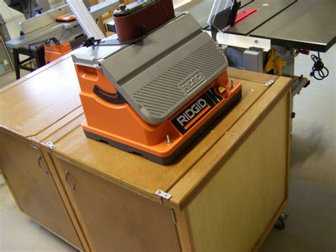 sanding stations for woodworking flip top planing sanding station by njcraftsman