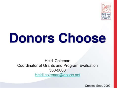 donors choose ppt donors choose powerpoint presentation id 5241814