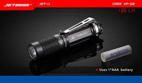 Jetbeam Jet U Tiny Flashlight 135 Lumen jetbeam jet u tiny flashlight senter led cree xp g2 135 lumens black jakartanotebook