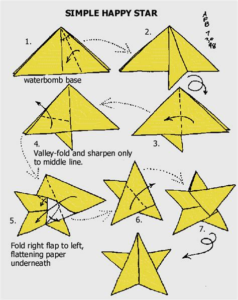 How To Make Paper Starts - bring tvxq s smile back tutorial origami