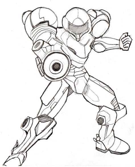 I M Drawing The Line by Samus Smash Bros Coloring Pages Coloring Home