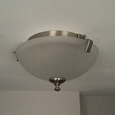 How Do I Change A Light Fixture Light Fixture How Do I Remove This So I Can Change The Lightbulb Home Improvement Stack