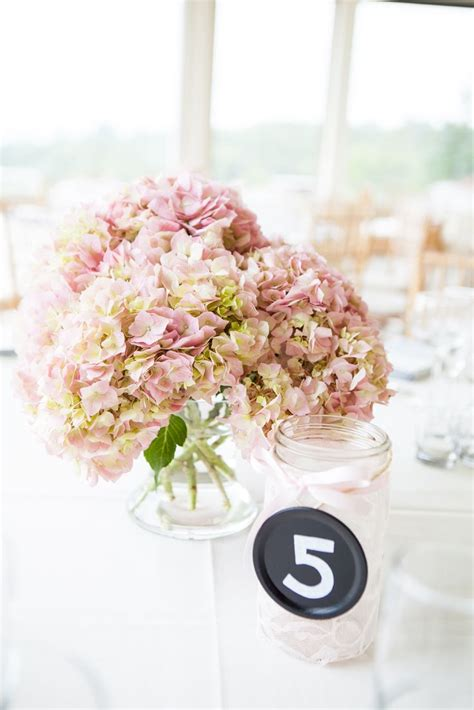 top 25 ideas about pink hydrangea centerpieces on pink hydrangea bouquet pink
