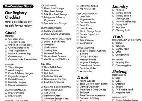 Pin by Engedi on Wedding   Wedding registry checklist
