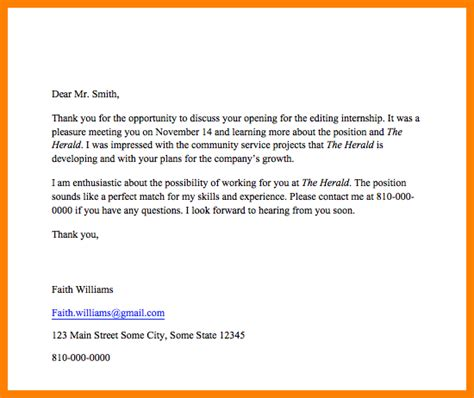 Subject Of Mba Thank You Email by Thank You Email After Subject Line Template