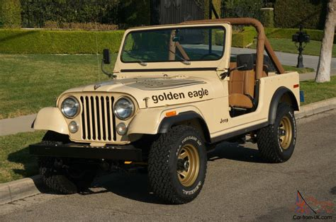 jeep cj golden 1979 jeep golden eagle cj7