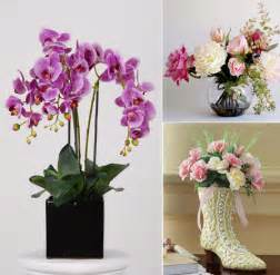 Floral Decorations For Home Beautiful Artificial Silk Flowers Arrangements For Home
