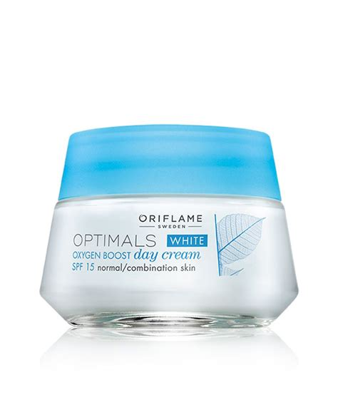 Optimals Skincare By Orifalame oriflame optimals white oxygen boost day spf 15