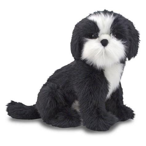 black shih tzu stuffed animal doug shih tzu plush jet