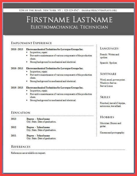 resume microsoft word template word resume wwwisabellelancrayus