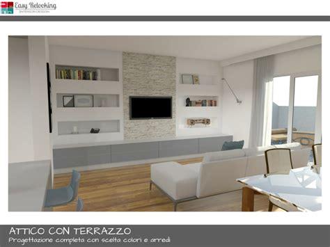 progettare terrazzo progettazione attico con terrazzo a