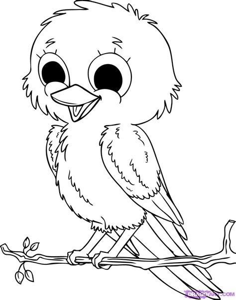 coloring pages to print birds cute bird coloring pages free printable pictures