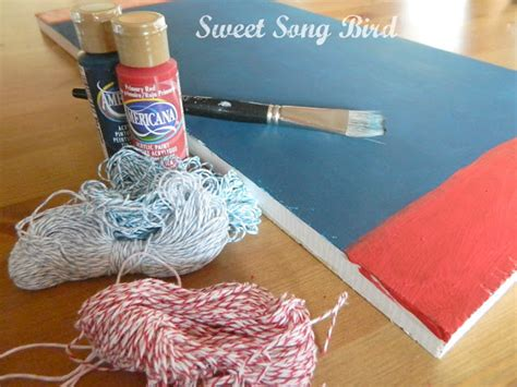 Materials Needed For String - evey s creations nautical string