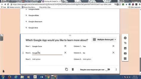 tutorial membuat kuesioner online membuat form online di google creating multiple choice