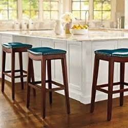 julien leather bar stool saddle 24 quot counter