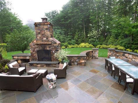 backyard patio designs how to plan for building an outdoor fireplace hgtv