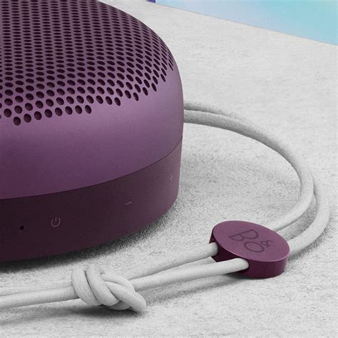 Olufsen Beoplay A1 Portable Speaker Violet
