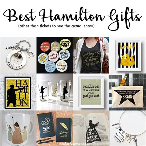 Best Hamilton Gifts ? The Observant Turtle