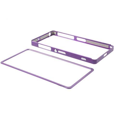 Sony Xperia Z2 Aluminium bumper en aluminium pour sony xperia z2 violet