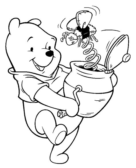 coloring page of winnie the pooh winnie the pooh coloring pages learn to coloring
